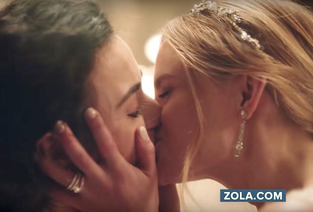 Zola Commercial Same Sex Couple Wedding Video