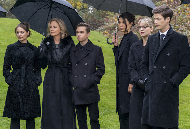 Arrow Funeral Who Missing