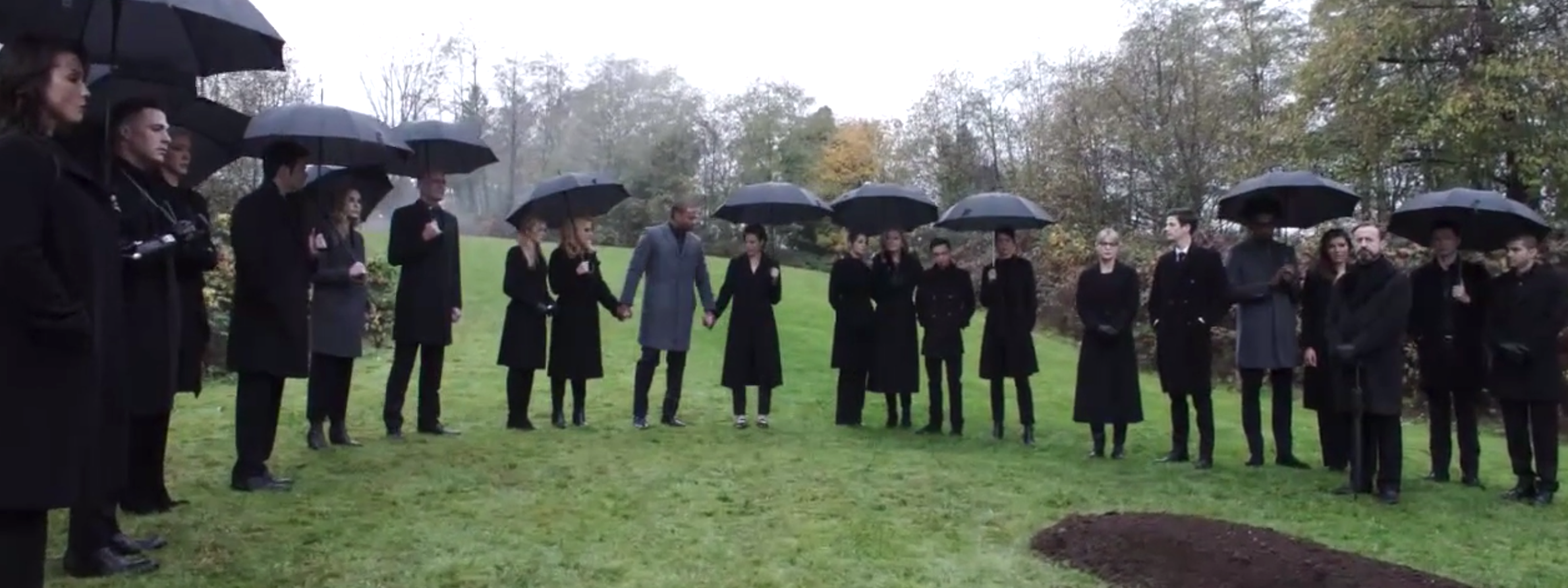 Arrow Series Finale Funeral