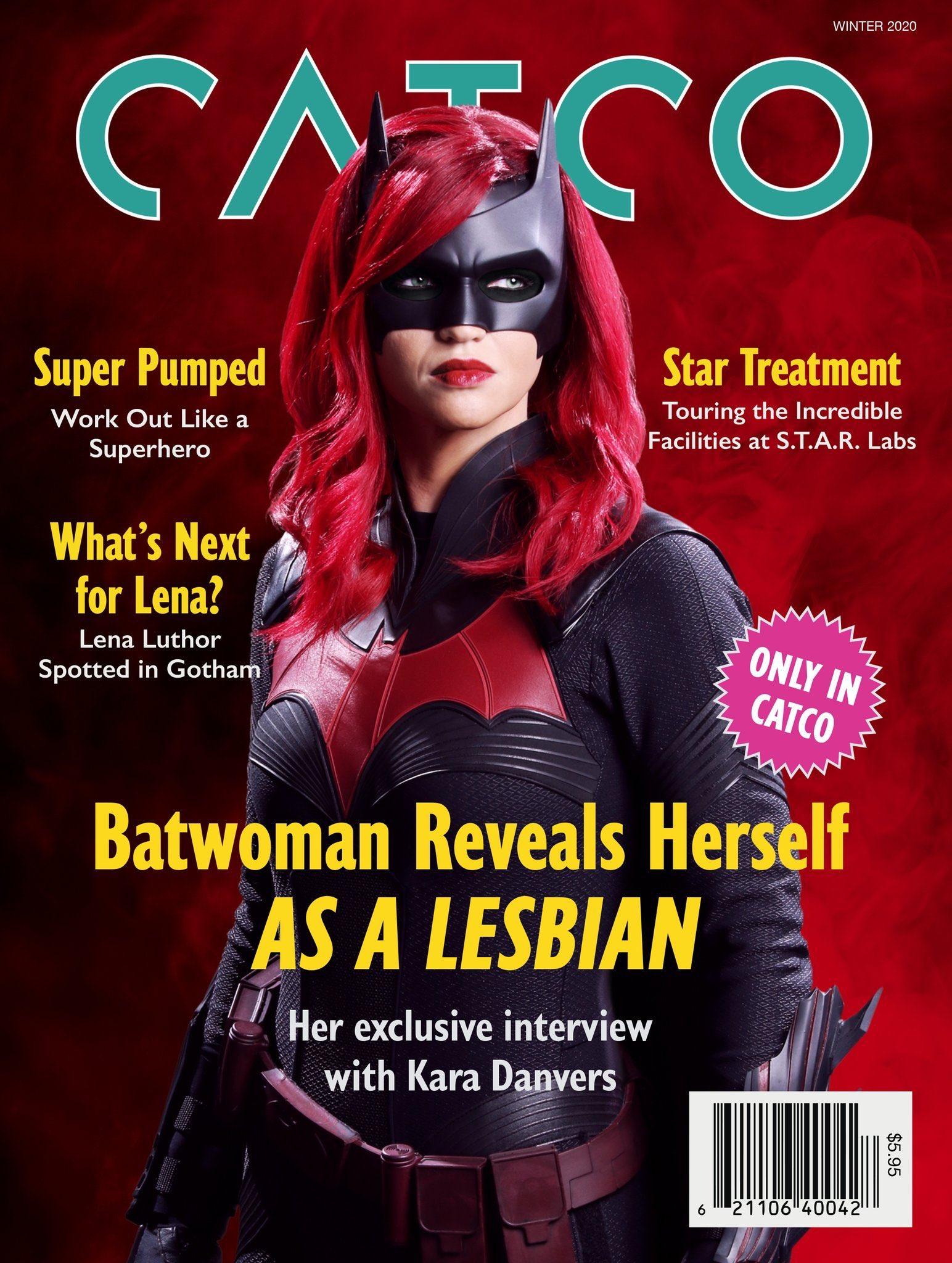 Batwoman CatCo Magazine
