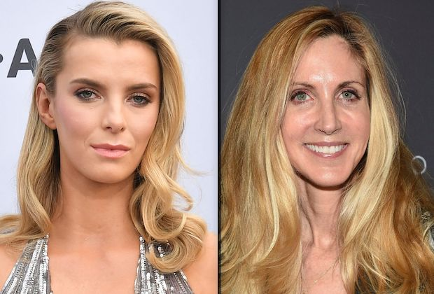 Betty Gilpin Ann Coulter
