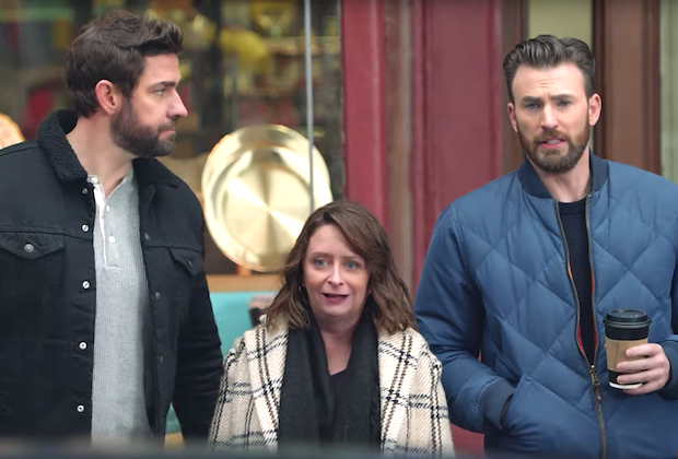 Hyundai Christmas Commercial 2020 VIDEO] Chris Evans, John Krasinski in Boston Commercial — Super