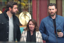 Chris Evans, John Krasinski and Rachel Dratch 'Pahk the Cah' in Boston-Tastic Super Bowl Commercial —Watch