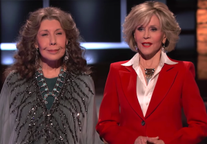 Grace and Frankie on Shark Tank
