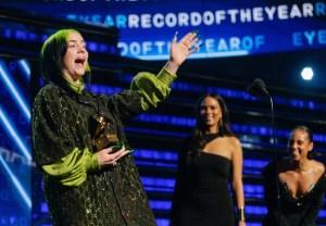 Grammys Eilish 2020