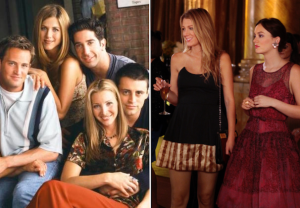 HBO Max Friends Gossip Girl