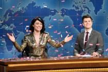 'SNL' Video: Melissa Villaseñor Reacts to Greta Gerwig's Oscar Snub, 'White Male Rage' Among 2020 Nominees
