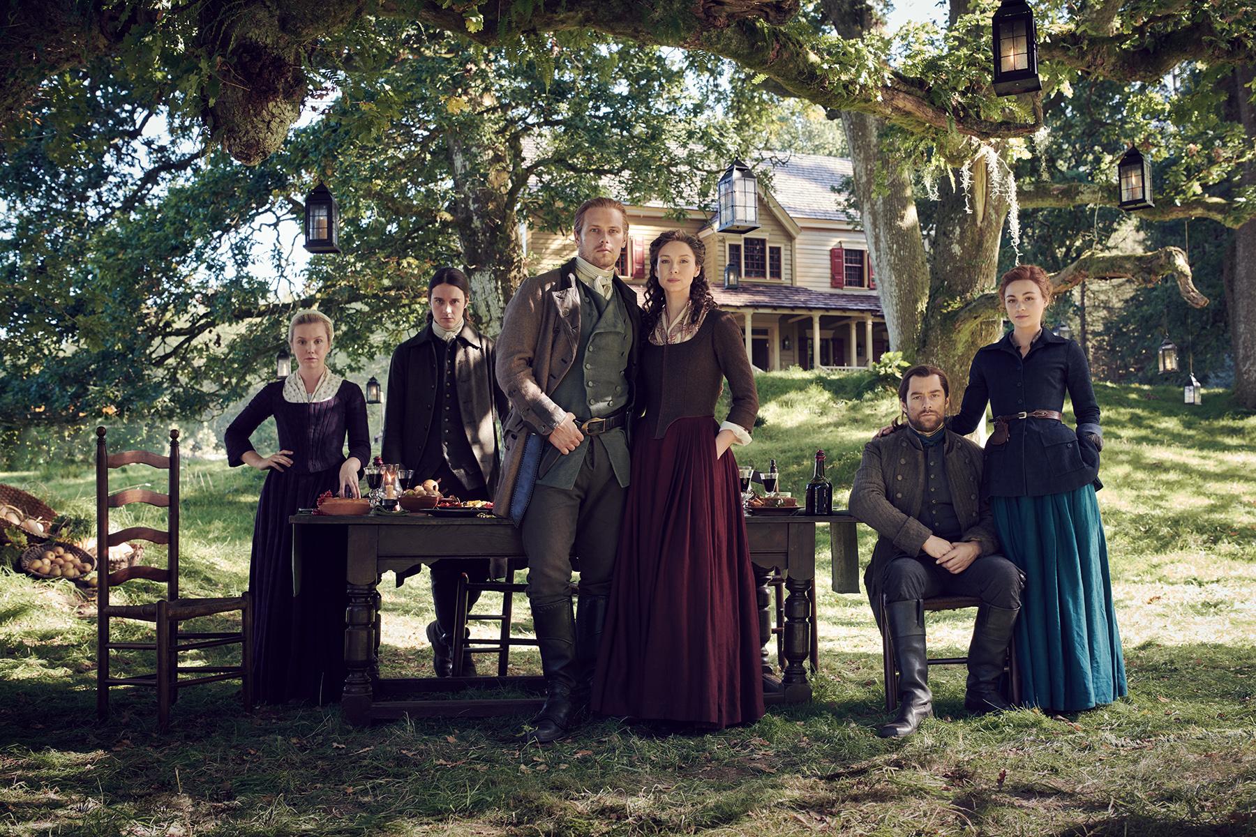 Outlander Season 5 Video Sam Heughan Caitriona Balfe