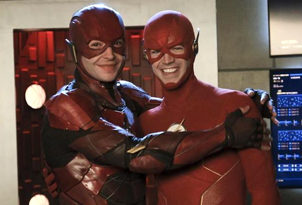 'The Flash' - Grant Gustin, Ezra Miller