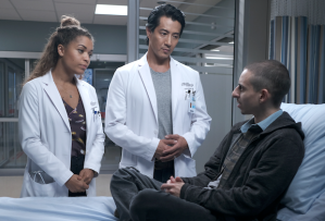 The Good Doctor 3x11 - Claire, Park and Luca