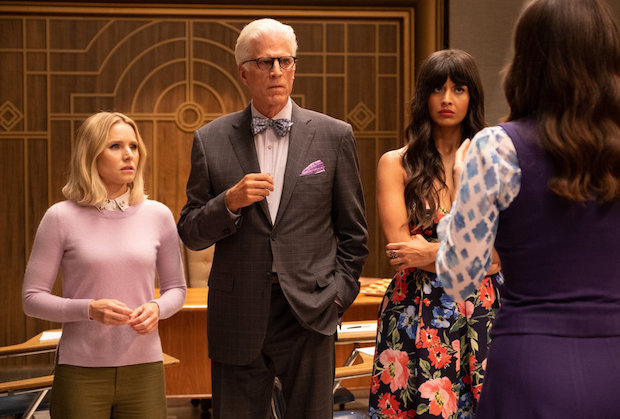 The Good Place Season 4 Episode 10 Eleanor Michael Tahani Janet