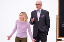 The Good Place Boss Tells All About That Surprise Cameo: 'It's Just So Fun to See That Guy Back Again'