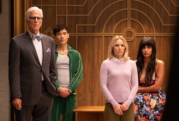 The Good Place Season 4 Episode 11 Michael Jason Eleanor Tahani