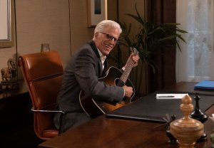 The Good Place Series Finale Michael Guitar