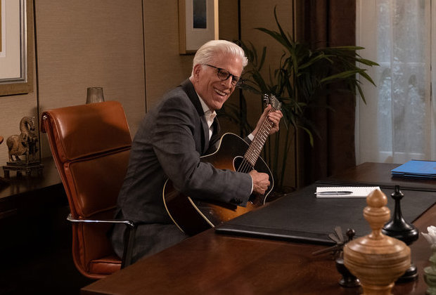The Good Place Series Finale Michael Guitar