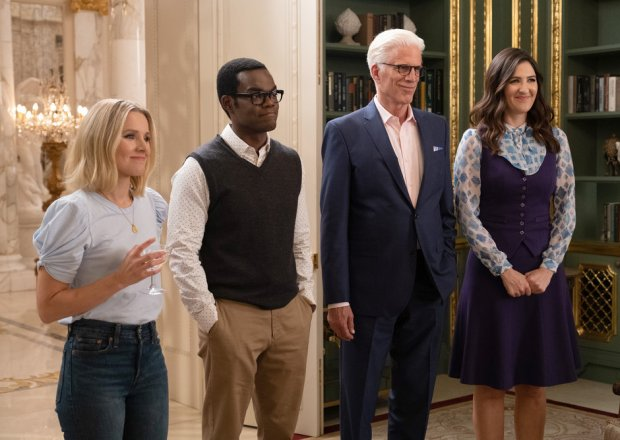 The Good Place Series Finale Eleanor Chidi Michael Janet