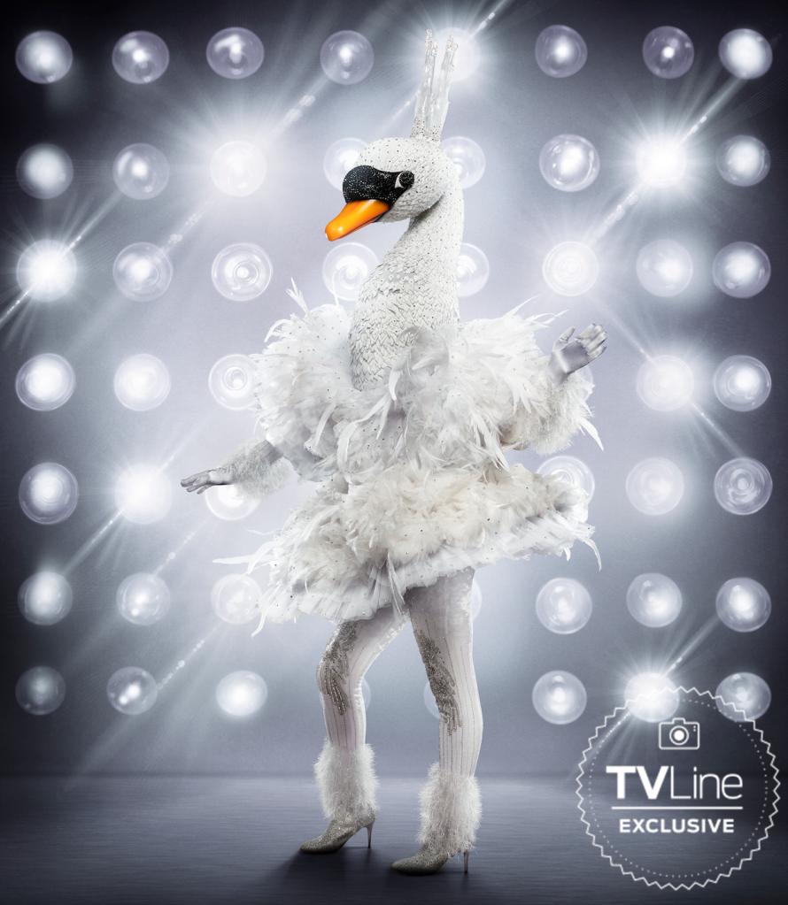The Masked Singer Season 3 Swan Costume