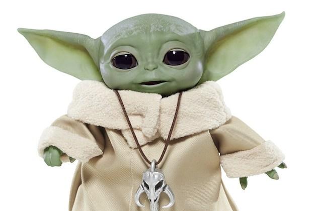 Baby Yoda Toy The Mandalorian Disney Plus