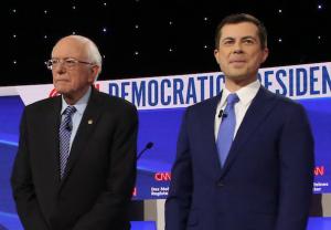 Bernie Sanders & Pete Buttigieg - Democratic Debate 2020