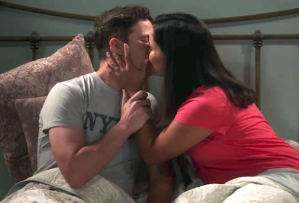 'Brooklyn Nine-Nine' - Jake and Amy Kiss