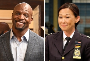 'Brooklyn Nine-Nine' - Terry and Captain Kim in 7x02