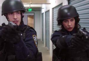'Brooklyn Nine-Nine' - Jake and Rosa