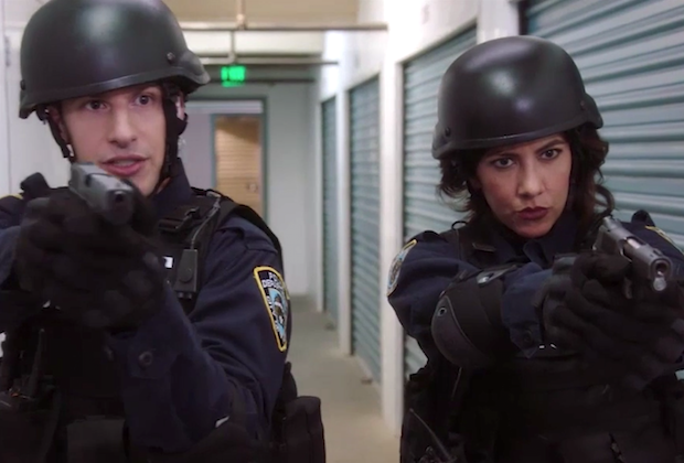 'Brooklyn Nine-Nine' - Jake and Rosa