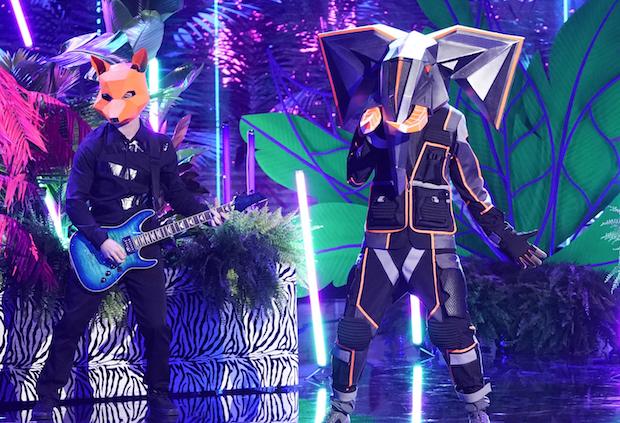 The Masked Singer Tony Hawk Elephant Season 3