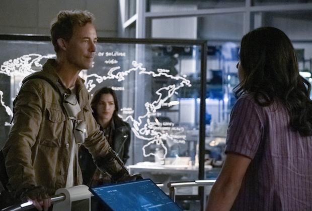 Flash Season 6 Nash Allegra