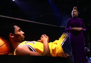 jennifer hudson kobe bryant tribute full performance video