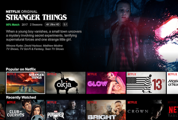 Netflix Disables Auto Play Previews
