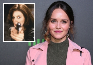 Rebecca Breeds as Clarice Starling in 'Silence of the Lambs' TV Show