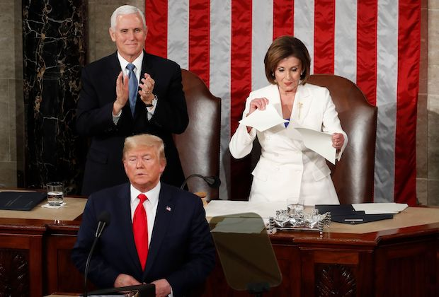 State of Union Pelosi Rips