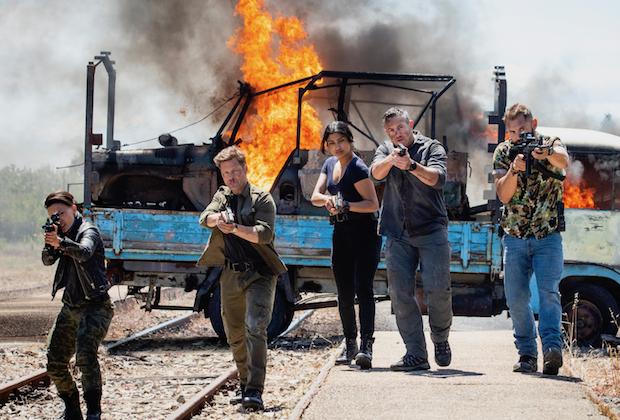 'Strike Back' Final Season Premiere - Cinemax