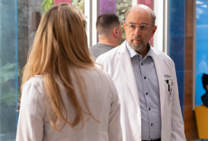 'The Good Doctor' 3x14 - Morgan and Glassman Scene