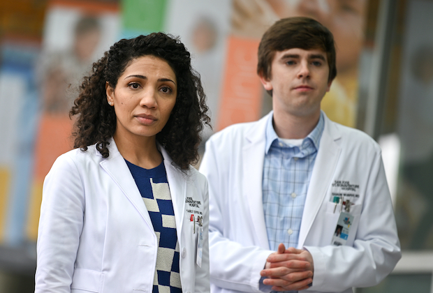 The Good Doctor 3x14 - Shaun and Carly in 'Influence'