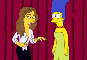 The Simpsons Chrissy Teigen