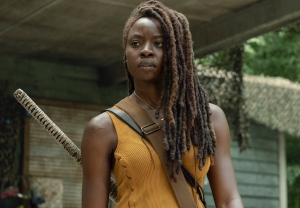 the-walking-dead-danai gurira leaving michonne video season 10