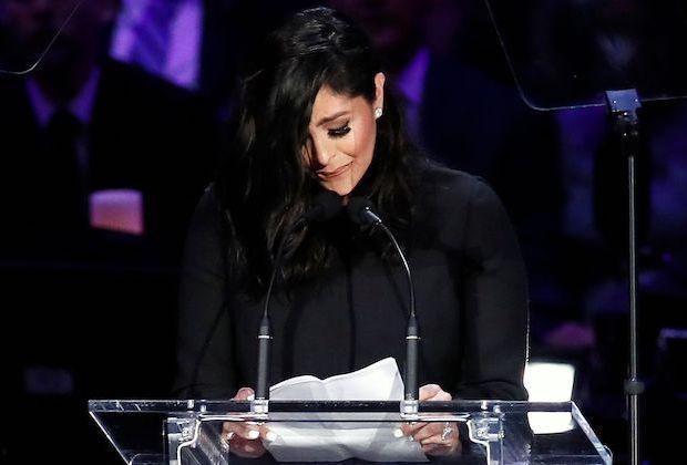 Vanessa Bryant Kobe Farewell Speech