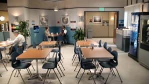 'Young Sheldon' Big Bang Theory Caltech Cafeteria