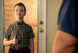 'Young Sheldon' - Sheldon in Season 3, Episode 16 'Pasadena'