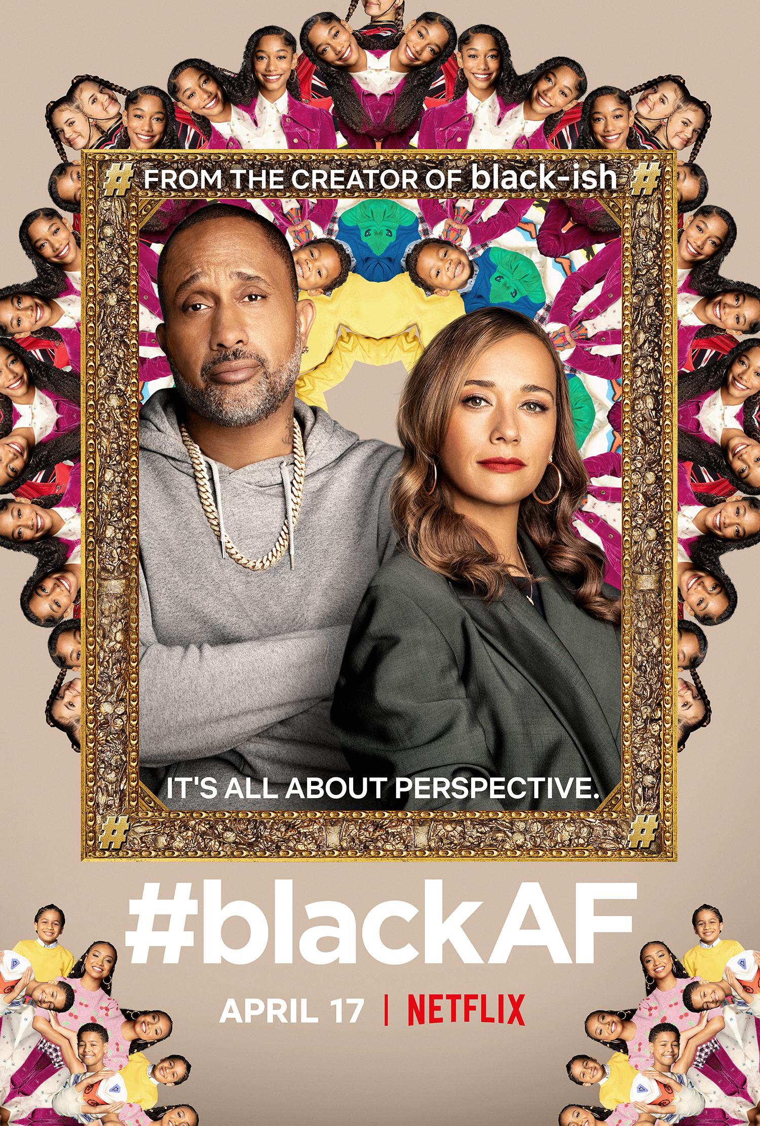 #blackAF Season 1 poster