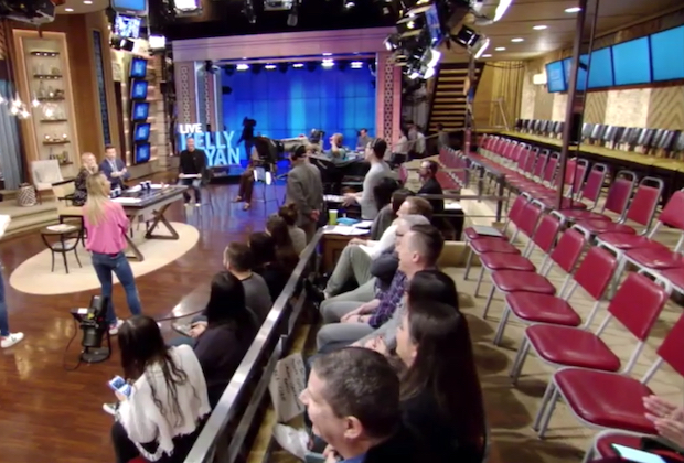 live with kelly and ryan no audience