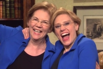 SNL Video: Elizabeth Warren Makes Surprise Cameo, Meets Kate McKinnon