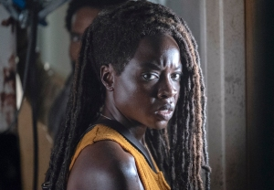 danai gurira the walking dead interview michonne leaving movies