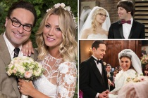 Big Bang Theory: Geek Out Over This Supercut of All the Gang's Weddings