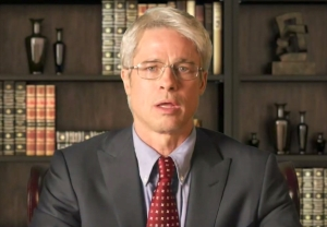 brad pitt anthony fauci snl video