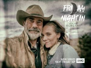 Jeffrey dean morgan Friday night in with the morgans amc series