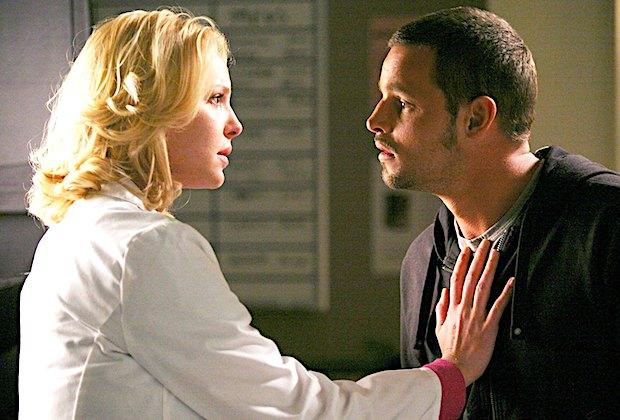 Grey's Anatomy Alex and Izzie