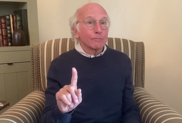 larry david bernie sanders snl at home video
